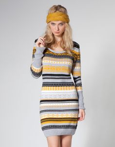Cute CO sweater dress.