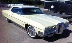1970 Pontiac Bonneville Convertible American Classic Cars, American Muscle Cars, Vintage Cars, Vintage Auto, Pontiac Catalina, Pontiac Bonneville, Old School Cars, Car Advertising, Vintage Advertisements