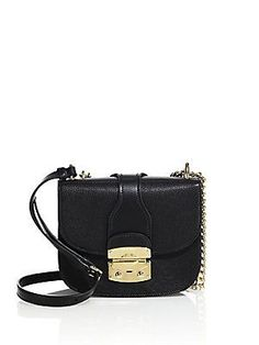 Miu Miu Madras Leather Crossbody Bag - Black Black Leather Crossbody Bag b35b74a18c535