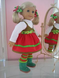 American Girl Doll Clothes made to fit 18 inch Doll by menabella