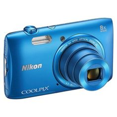 Nikon S3600 20MP Digital Camera with 8X Optical Zoom