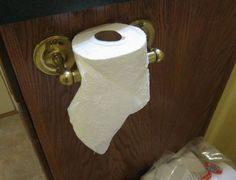 Novo suporte para papel higiênico? Tecnologia de ....