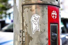 Cool Street Art Sticker Tokyo | Flickr: Intercambio de fotos