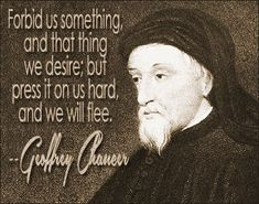 Geoffrey Chaucer quote #desirequotes