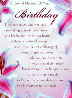 Discover and share Happy Birthday Mom In Heaven Quotes. Explore our collection of motivational and famous quotes by authors you know and love. Birthday In Heaven Quotes, Happy Birthday In Heaven, Birthday Wishes For Mom, Birthday Wish For Husband, Birthday Poems, Happy Birthday Quotes, Sons Birthday, It's Your Birthday, Birthday Nails
