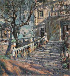 Josep Amat -Escales de jardí a Barcelona