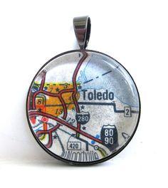 Toledo, OH pendant.