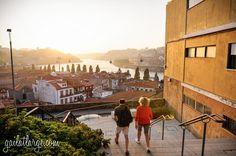 Summer Sunset in Porto, Portugal by Gailatlarge.com