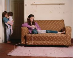 Frances Kearney // Like Mother, Like Daughter: III (Photograph) Narrative Photography, Photography Pics, Film Inspiration, Royal College Of Art, Aesthetic Images, Victoria And Albert Museum, Documentary Photography, Film Stills, Collage