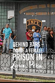 "Behind bars – Inside a female prison in Lima, Peru  I'm in Lima for a couple of days now. It's population nearly reaches 10 Million, it's Peru's largest city and capital. Today, I wanted to do something good. I take a seat in a bus heading off to the women's jail ""Santa Monica de Chorillos""."