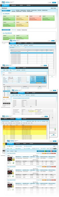 Web applictaion interface design. Web UI design and usability