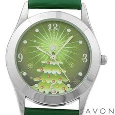 AVON  Base Metal Christmas Watch