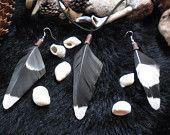 Sacred Spirit EarRing & Pendant set -    Shaman Druid Witch Pagan