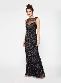 PREMIUM Black Sienna Maxi Dress