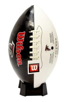 Atlanta Falcons Wilson Team Logo Football--(Package of Fun Gift for any occasion great products shipped from the USA Wilson Football, Falcons Football, Football Helmets, Football Conference, Tampa Bay Buccaneers, Atlanta Falcons, Basketball Teams, Team Names