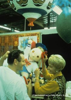 "Rolly Crump was excited to work with Mary Blair on the ""little boat ride"" at the World's Fair 