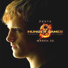 Peeta Mellark movie poster 23 March //<3