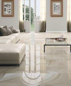 Indoor tile / floor / porcelain stoneware / high-gloss HIGH GLOSS : ABSOLUTE Ceracasa Ceramica