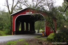 Oregon City Covered Bridge, Butte County, CA.