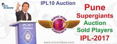 Rising Pune Supergiants Retained, Released and Auction Sold players list http://www.cricwindow.com/ipl-10/pune-auction-players-list-2017.html