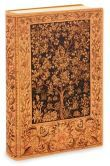 Antique Tree of Life Printed Italian Lined Leather Journal (6