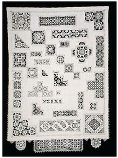 Sampler embroidered by Elizabeth Prickett 1972-1977