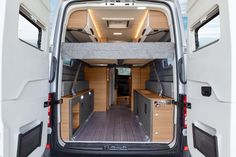 We like the Boxdrive's dual load doors and lifting bed set-up better than Volkswagen's California XXL...