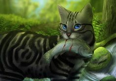 Silverstream, beautiful picture. I love seeing Warriors realistically drawn and having their own characteristics.