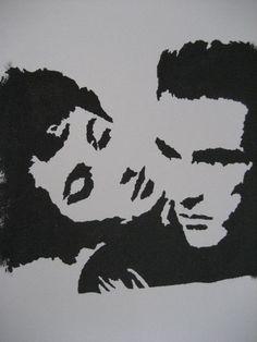 A Place in the Sun Graffiti Stencil Art by CrankedUpReallyHigh, $15.00