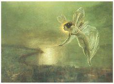 Spirit Of The Night Print By John Atkinson Grimshaw