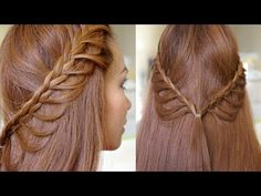 Summer Cascading Braids Hair Tutorial - YouTube