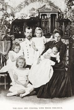 """"" The Empress is a devoted mother, and hardly ever parted from her four little girls. The little Grand Duchesses have therefore seen a great deal of the world, especially the Princess Olga, who has accompanied her father and..."