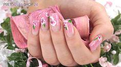 #trendstyle   #trend   #floral   #nails   #nailart   Bunte Farben und leichte Stoffe sorgen für sommerliche Vorfreude. Mit dem farbenfrohen Floral-Look lassen sich auch die Fingernägel toll in Szene setzen.  Wie das aussehen kann, zeigen wir Dir in diesem Video. Hier findest Du alle verwendeten Produkte:  http://www.prettynailshop24.de/shop/trendstyle-floral-video_639.html#Produkte?utm_source=google_plus&utm_medium=referrer&utm_campaign=gp_trendstyle_floral0515