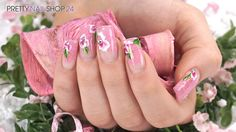 #trendstyle   #trend   #floral   #nails   #nailart   Bunte Farben und leichte…