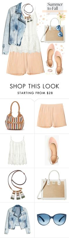 """Crushing It: Summer to Fall Velvet"" by theseapearl ❤ liked on Polyvore featuring Rosetti, Monki, Velvet, J.Crew, Marni, Ray-Ban, Emma Fox, MANGO, velvet and maryjanes"