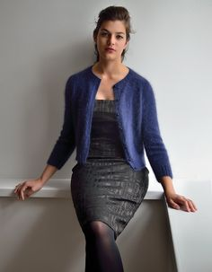 View album on Yandex. Rowan Knitting Patterns, Knitting Designs, Knitting Ideas, Crochet Patterns, Knitting Projects, Rowan Yarn, Cardigan Design, Angora Sweater, Cardigan Outfits