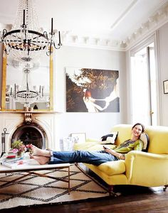 The Secrets to Styling Your Home Like a Brooklyn Brownstone via @MyDomaine