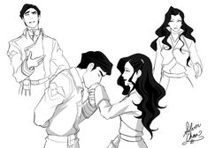 Explore the Legend of Korra collection - the favourite images chosen by Cathyrhapsodiana on DeviantArt. Avatar Kyoshi, Avatar The Last Airbender, Iroh Ii, Avatar Ang, Asami Sato, Prince Zuko, Disney Princes, Legend Of Korra, Best Couple