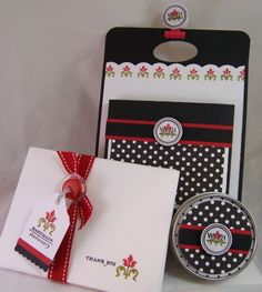 handmade stationary take-along gift