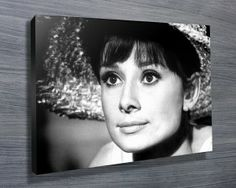 Vintage Hepburnfrom $26.00. This is another stretched canvas print that features the photo of Audrey Hepburn taken by the famous photographer Bob Willoughby. As with all art on this site, we offer these prints as stretched canvas prints, framed print, rolled or paper print or wall stickers / decals. http://www.canvasprintsaustralia.net.au/  #birthdaypresentideas #popart  #retirementgifts