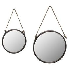 2-Piece Gemma Wall Mirror Set