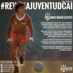 #LunesDeRevista!  ¡QUE JUGADOR! Les dejamos la edición número 20 de la #RevistaJuventudCAI. #RicardoOmarGiusti