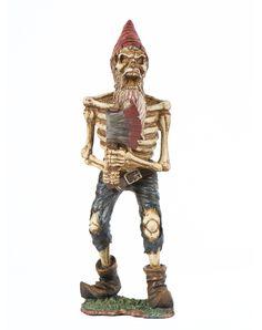 Axe To Grind Skeleton Gnome – Spirit Halloween