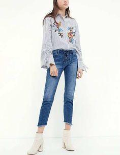 Prezzi e Sconti: #Skinny jeans vita media lavato scuro taglie 44  ad Euro 29.95 in #Jeans #Moda donna