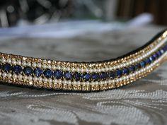 Equiture - Heliotrope, opal and light colorado megabling curve browband, $85.72 (http://www.equiture.biz/heliotrope-opal-and-light-colorado-megabling-curve-browband/)