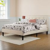 $305 for a king, EXCELLENT reviews, does not need a box spring. Found it at AllModern - Upholstered Panel Bed