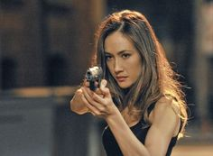 Maggie Q - Nikita-THIS SHOW IS SOOOO DANG GOOOD! And I love her!! Shes such a bada$$ on the show!! Holding it down for female actors!! Shes more than just a pretty face, homegirl can kick a$$!! I'm in love with her!!!