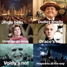 These Top 18 Harry Potter Memes Jingle Bells are so hilarious that will make you Funny and Laughing for whole day.We are sure you will enjoy these Top 18 Harry Potter Memes Jingle Bells. Harry Potter World, Memes Do Harry Potter, Images Harry Potter, Fans D'harry Potter, Mundo Harry Potter, Harry Potter Cast, Potter Facts, Harry Potter Characters, Harry Potter Universal