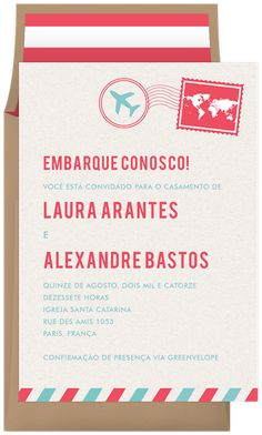 Airmail by Clementine Creative Wedding Invitation Inspiration, Wedding Invitations, Invites, You Are Invited, Paris, Celebrity Weddings, Rsvp, Airmail, Creative