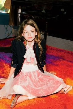 Way back when I helped style Mackenzie Foy from The Twilight Saga for Teen Vogue Magazine